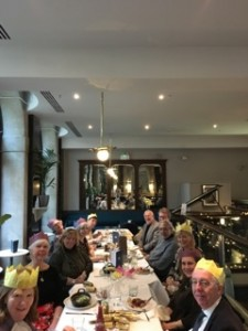 Lovely Christmas lunch at Browns in Leeds 2018